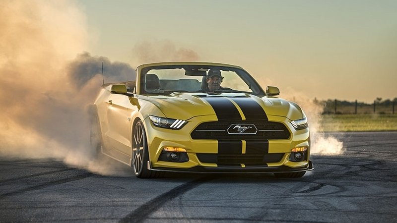 2016 Ford Mustang Convertible HPE750 By Hennessey