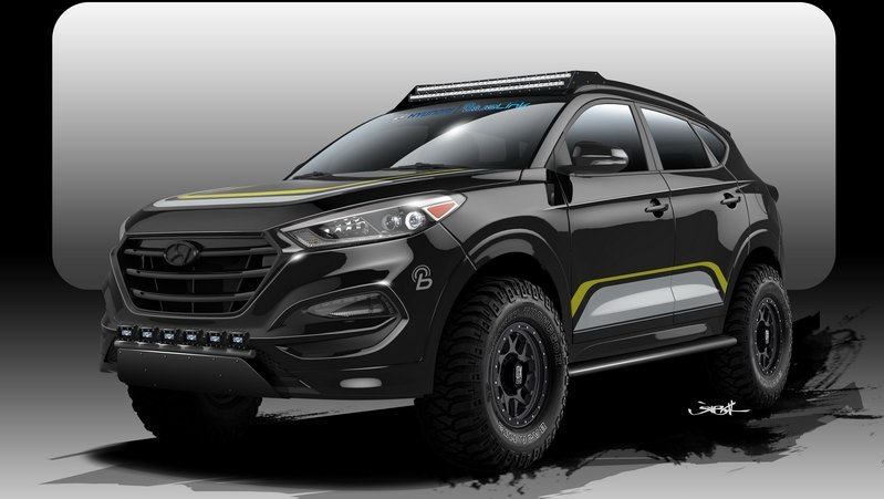 2016 Hyundai Tucson By Rockstar Performance Garage