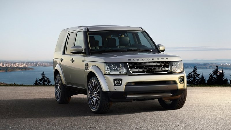 2016 Land Rover Discovery Graphite