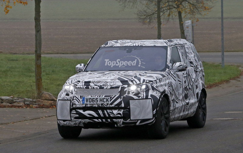 2017 Land Rover Discovery High Resolution Exterior Spyshots - image 653510
