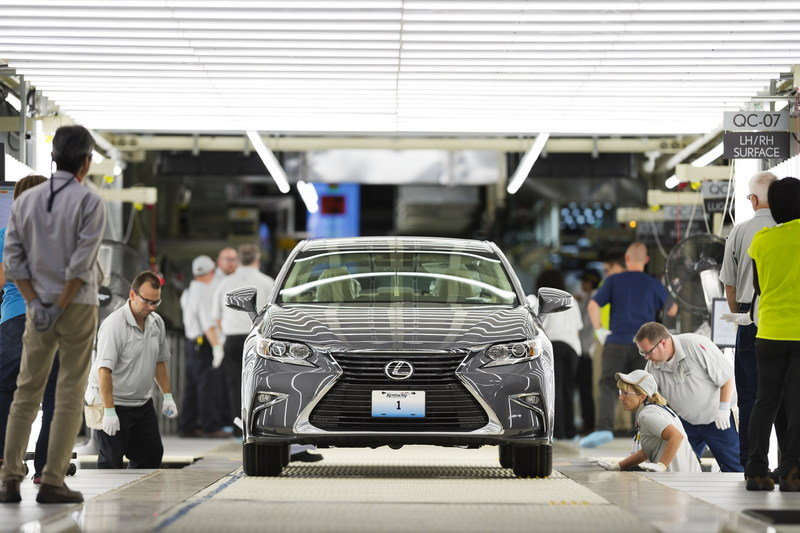 Lexus Begins U.S. Production At The Kentucky Plant