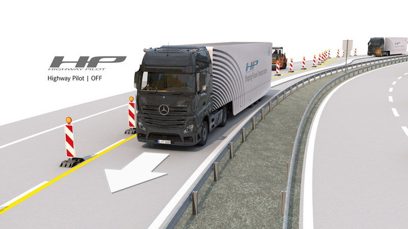 Mercedes-Benz's Self-Driving Truck Rolls Down The Autobahn High Resolution - image 649468