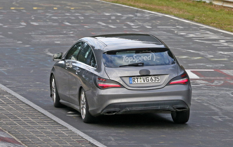 2017 Mercedes-Benz CLA Shooting Brake Exterior Spyshots - image 650385