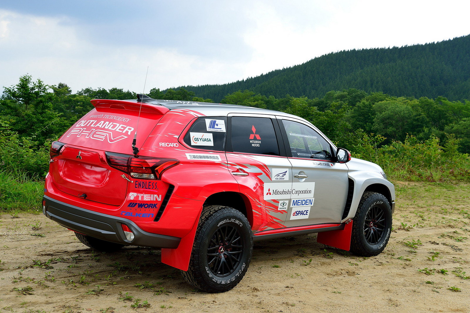 Mitsubishi Outlander Sport Race Car