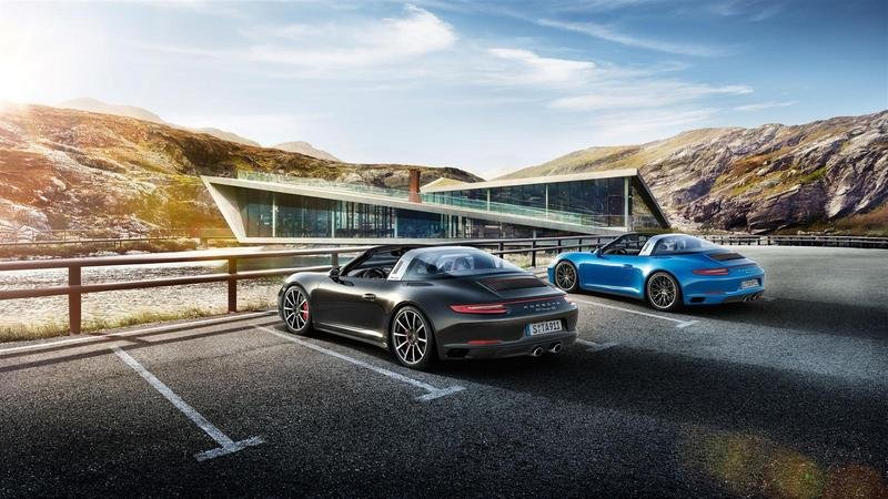 2017 Porsche 911 Targa 4 High Resolution Exterior - image 649683