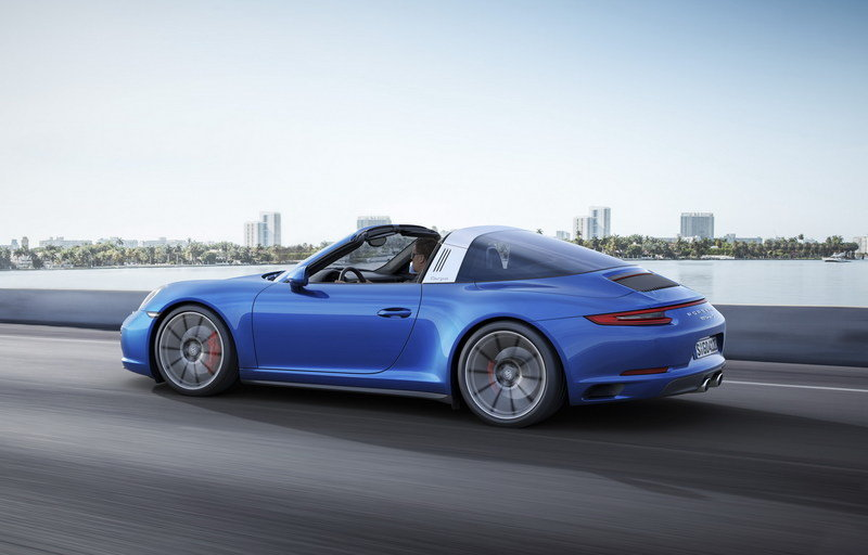 2017 Porsche 911 Targa 4 High Resolution Exterior Wallpaper quality - image 649692