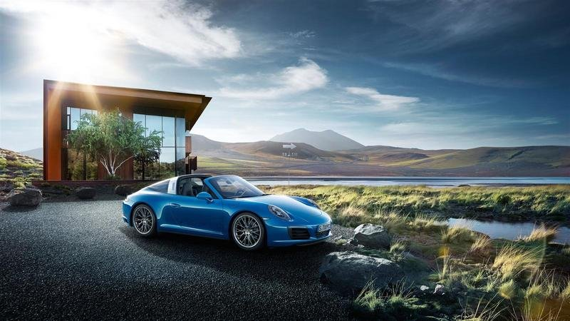 2017 Porsche 911 Targa 4 High Resolution Exterior - image 649666