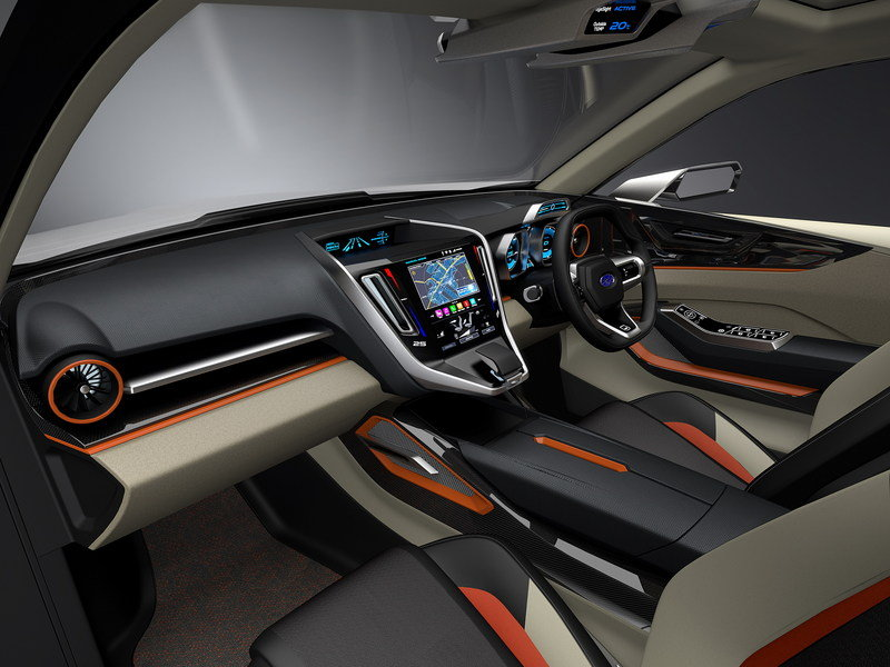 2015 Subaru Viziv Future Concept High Resolution Interior - image 649704