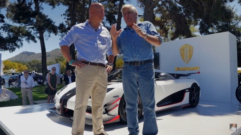 Jay Leno Reviews 2015 Monterey Car Week: Video