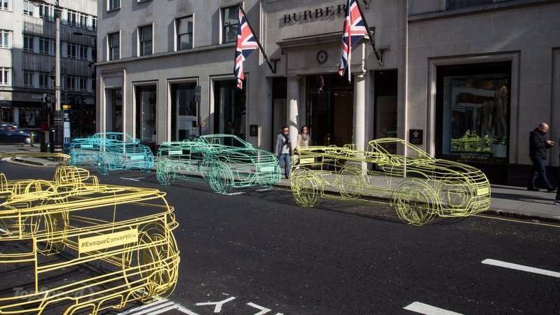 Wireframe Sculptures Preview Range Rover Evoque Convertible