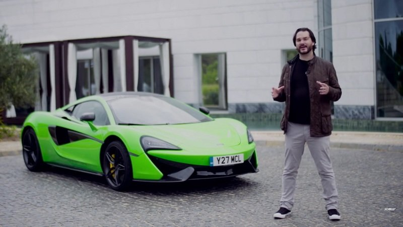 XCAR Reviews The New McLaren 570S: Video