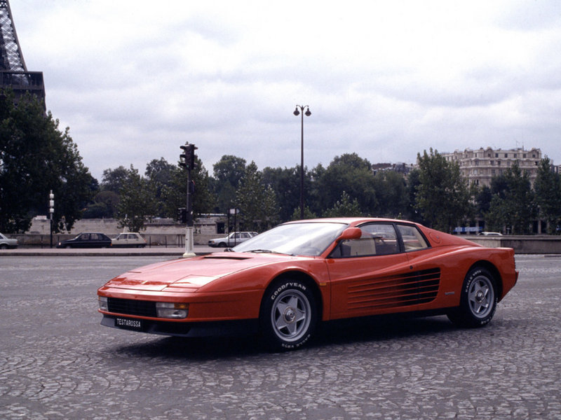 1984 - 1991 Ferrari Testarossa High Resolution Exterior - image 655741