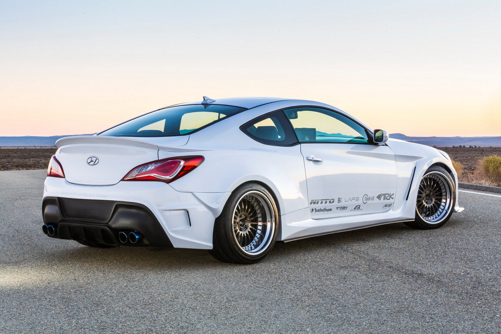 2015 hyundai genesis coupe solus by ark performance. Black Bedroom Furniture Sets. Home Design Ideas