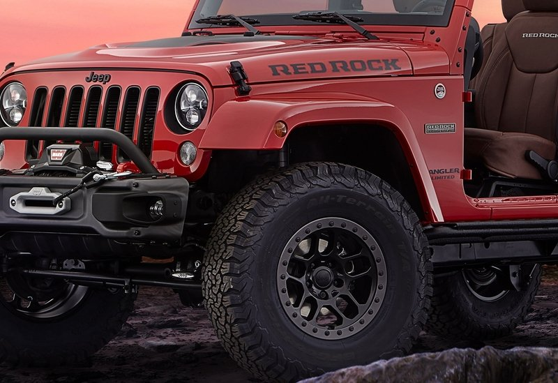 2015 Jeep Wrangler Red Rock Concept