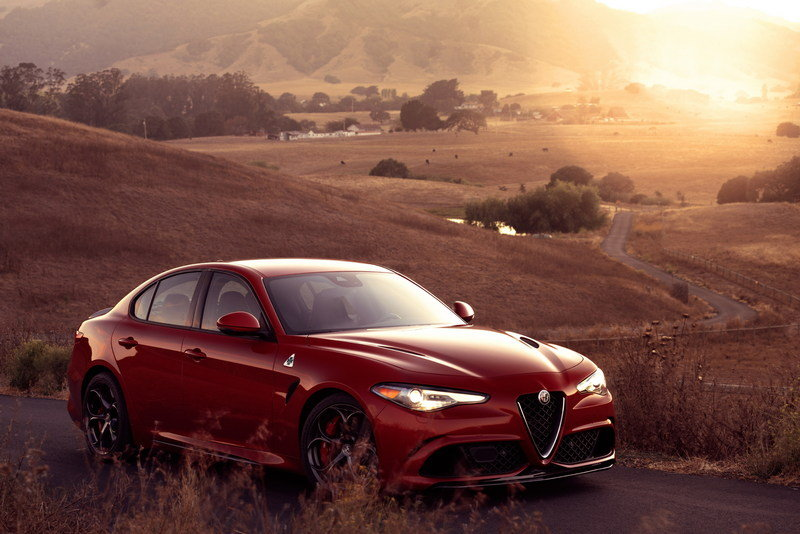 2017 Alfa Romeo Giulia Quadrifoglio High Resolution Exterior - image 656141