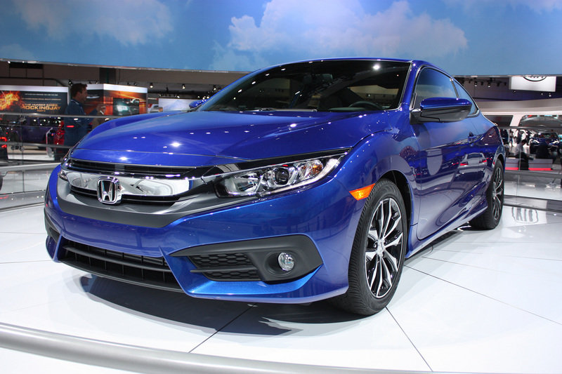 2016 Honda Civic Coupe High Resolution Exterior AutoShow - image 656952