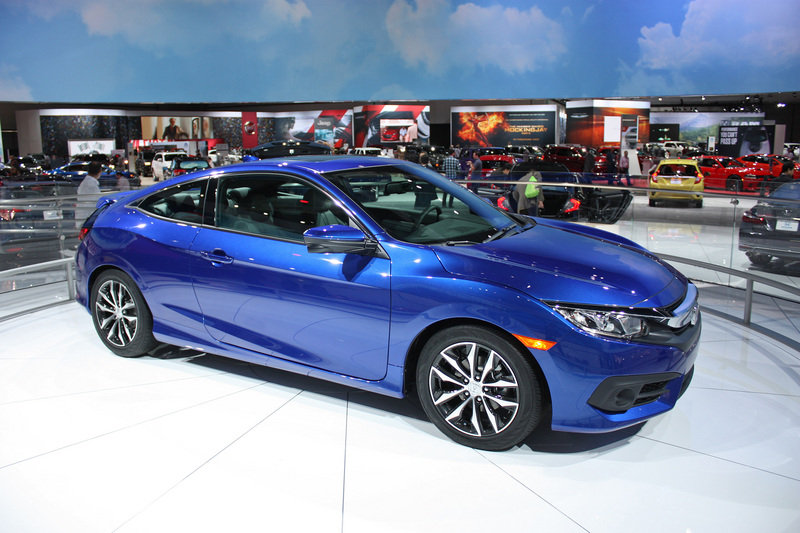 2016 Honda Civic Coupe High Resolution Exterior AutoShow - image 656954