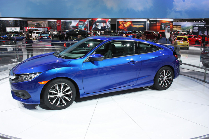 2016 Honda Civic Coupe High Resolution Exterior AutoShow - image 656955