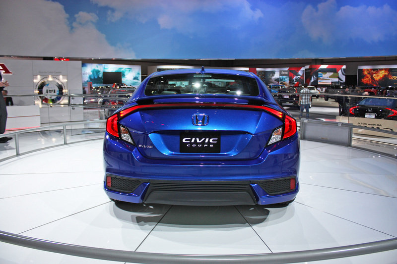2016 Honda Civic Coupe High Resolution Exterior AutoShow - image 656958