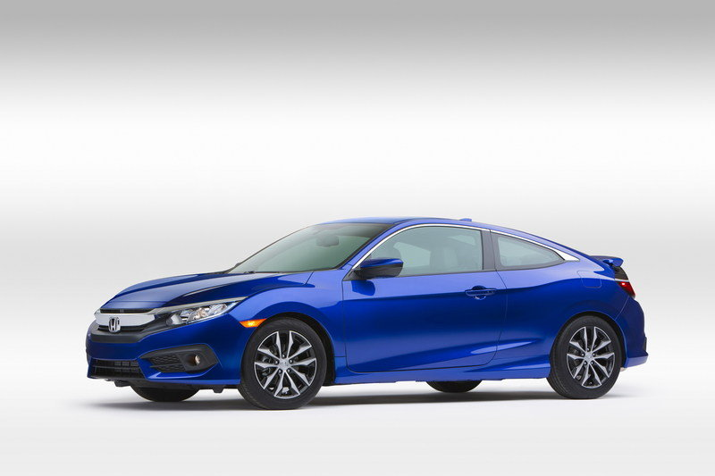 2016 Honda Civic Coupe High Resolution Exterior - image 655927