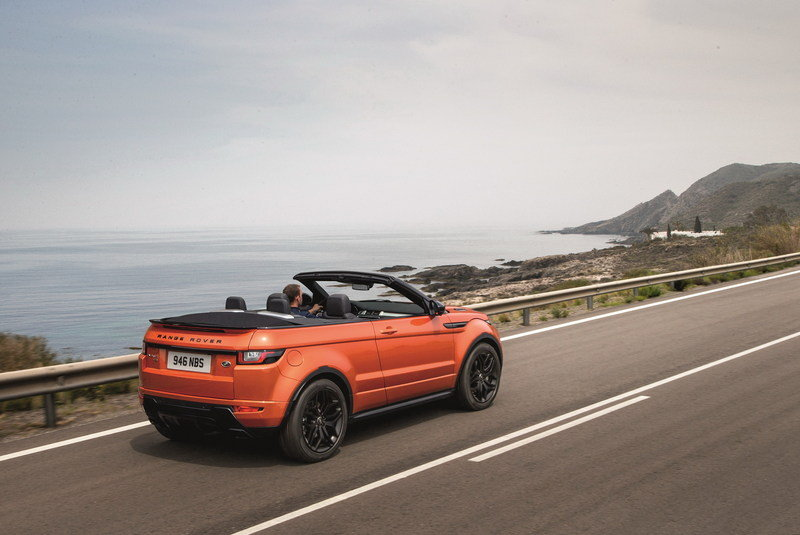 2017 Land Rover Range Rover Evoque Convertible High Resolution Exterior Wallpaper quality - image 654573