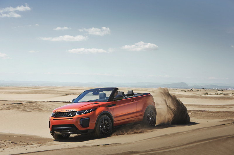 2017 Land Rover Range Rover Evoque Convertible High Resolution Exterior - image 654574