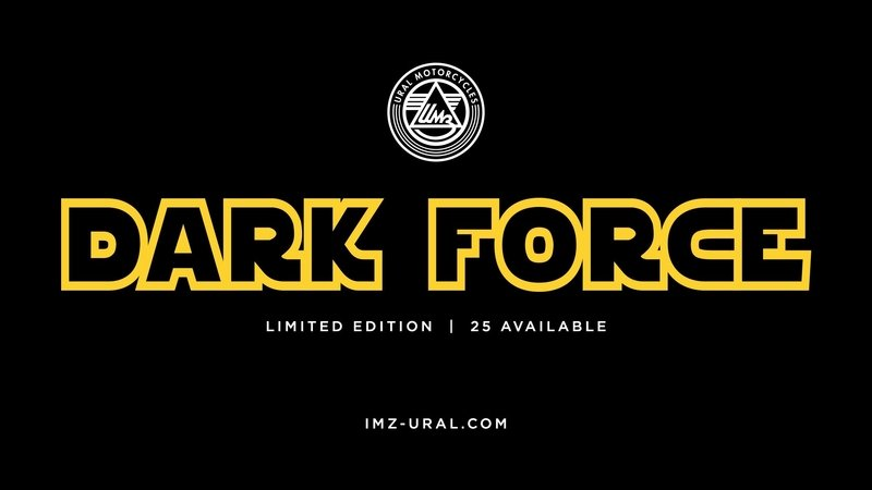 2016 Limited Edition from Ural Motorcycles: Feel the Force