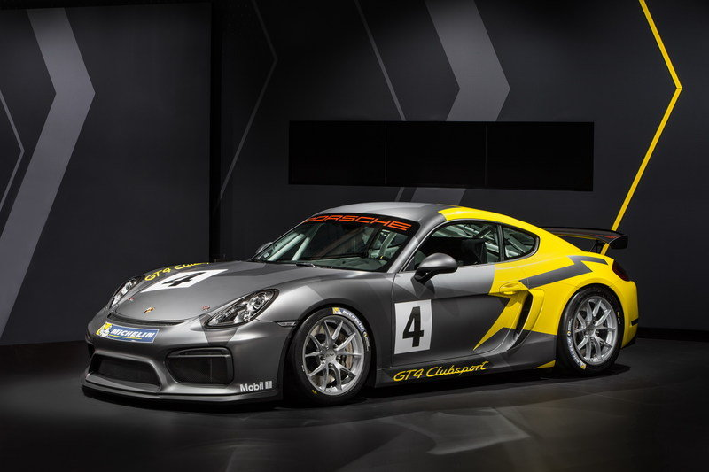 2016 Porsche Cayman GT4 Clubsport High Resolution Exterior - image 656217