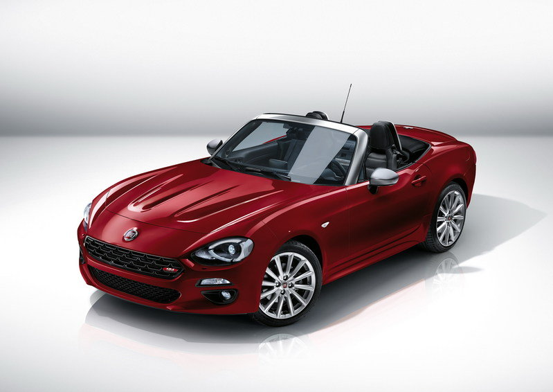 2017 Fiat 124 Spider High Resolution Exterior - image 656061