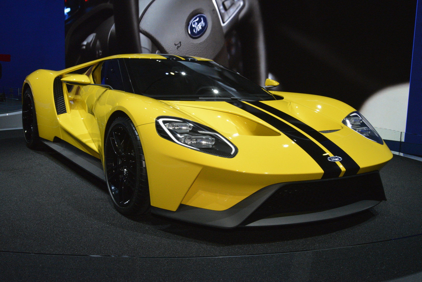 2017 ford gt picture 656405 car review top speed for Ford gt 2017 motor
