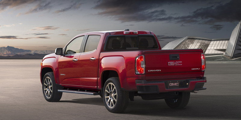2017 GMC Canyon Denali High Resolution Exterior - image 655837