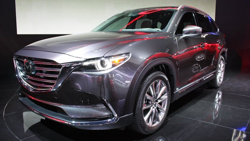mazda cx 9 reviews specs prices photos and videos top speed. Black Bedroom Furniture Sets. Home Design Ideas