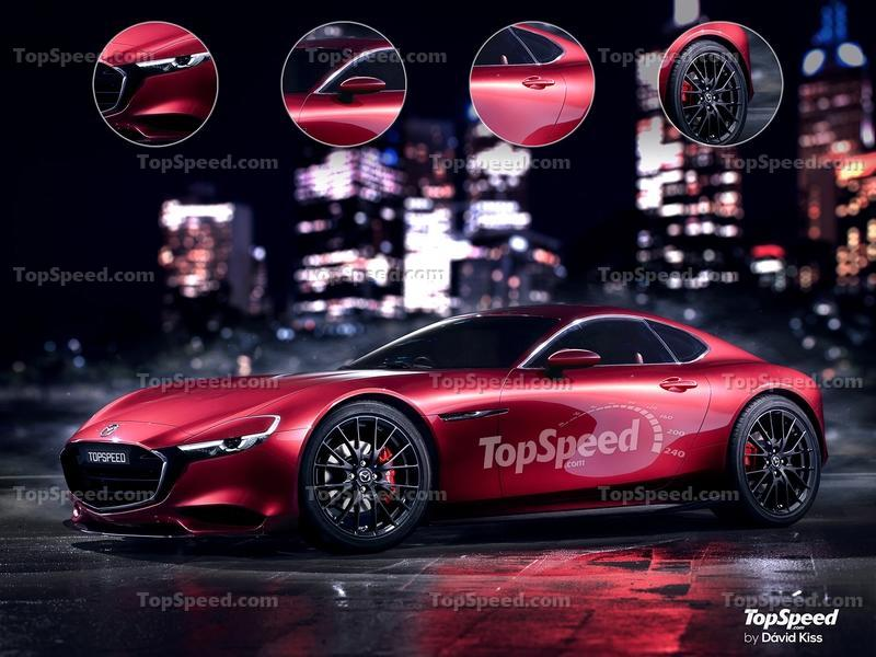 2018 Mazda RX-7 High Resolution Exclusive Renderings Computer Renderings and Photoshop - image 654566
