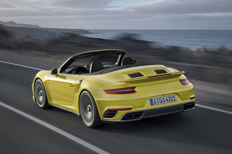 2017 Porsche 911 Turbo High Resolution Exterior Wallpaper quality - image 658136