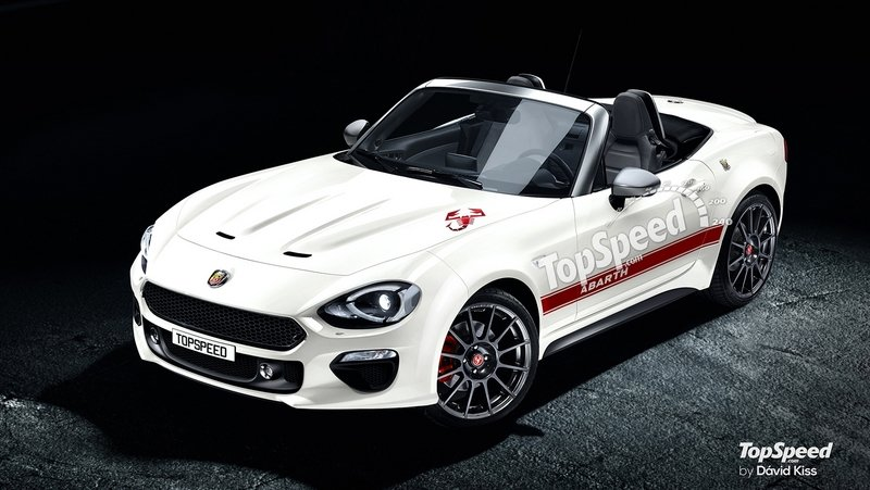 2018 Fiat 124 Spider Abarth High Resolution Exterior Exclusive Renderings Computer Renderings and Photoshop - image 656987