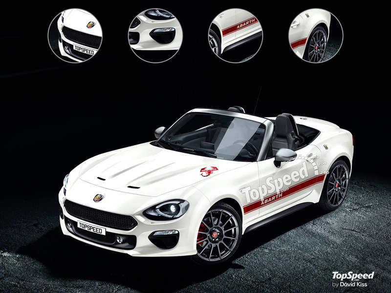 2018 Fiat 124 Spider Abarth High Resolution Exterior Exclusive Renderings Computer Renderings and Photoshop - image 656986