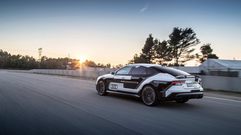 Audi RS 7 Piloted Driving Concept Sets Record In Spain
