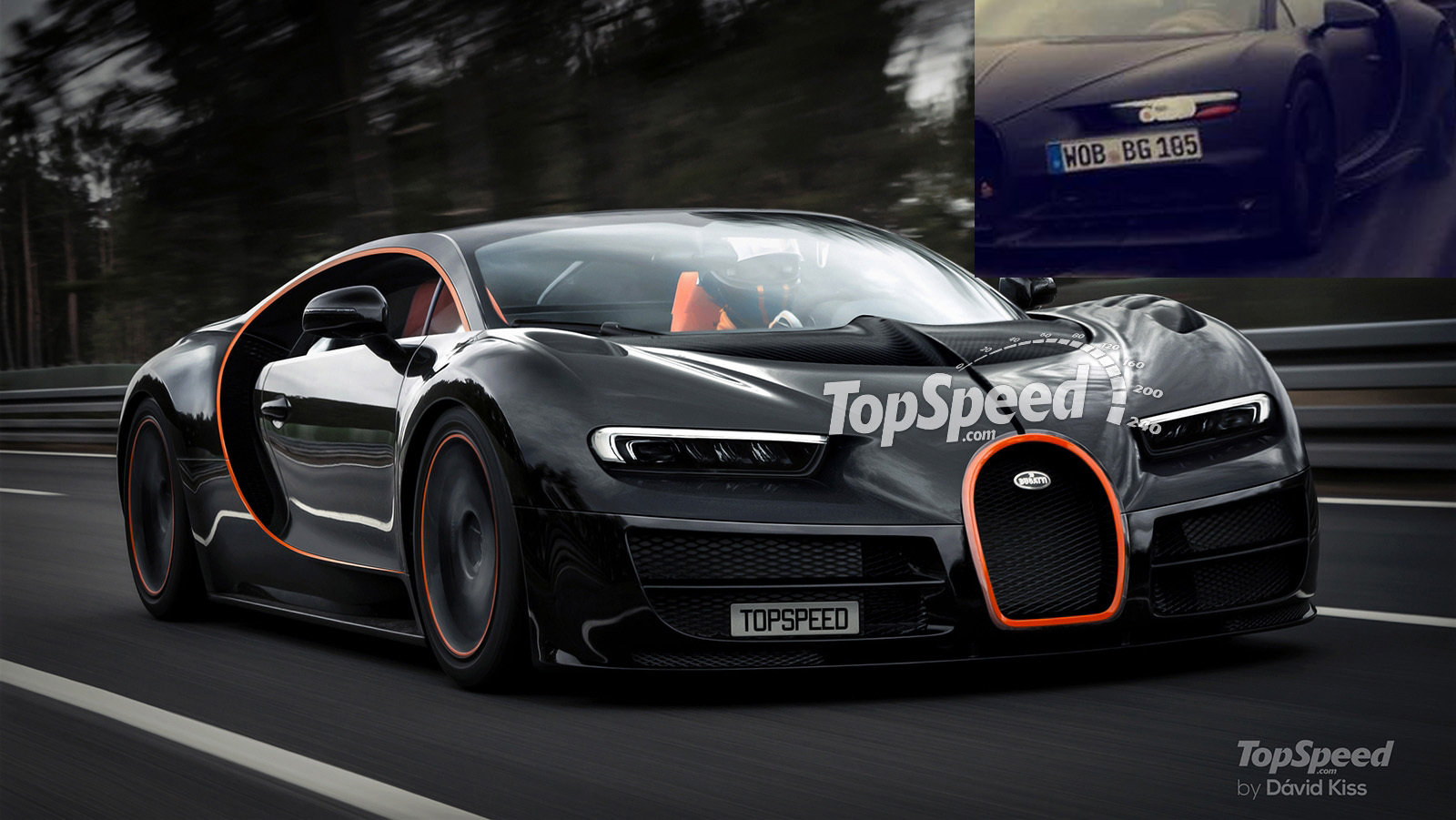 bugatti chiron reveals its face news - top speed
