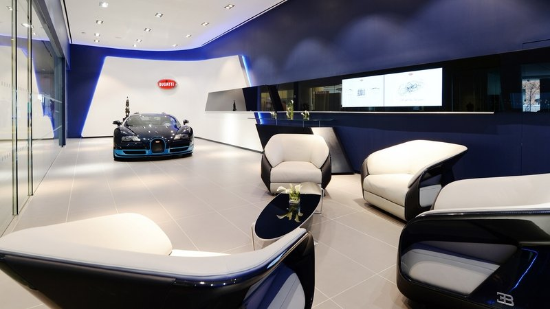 Bugatti Opens Showrooms In Manhattan And Miami