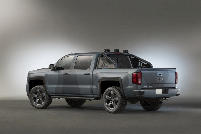 2015 Chevrolet Silverado Special Ops Concept High Resolution Exterior - image 653856