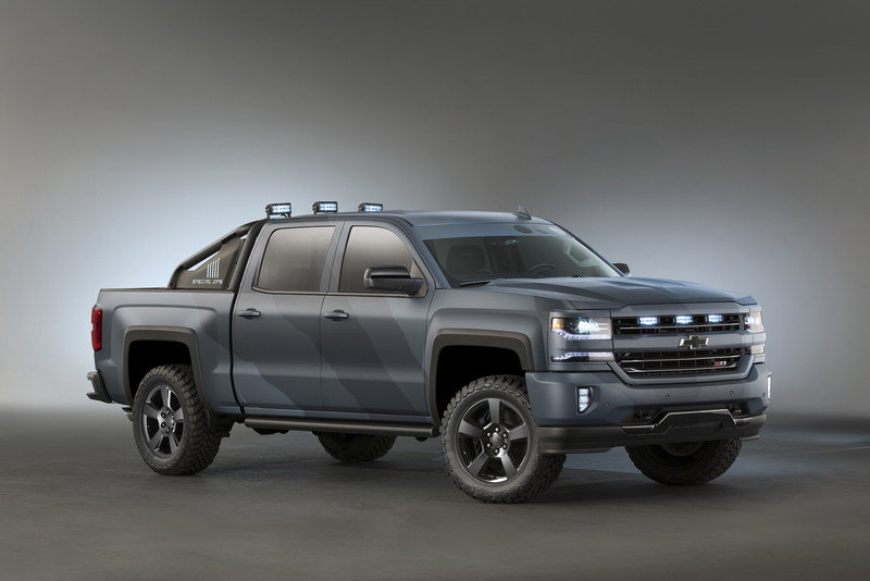 2015 Chevrolet Silverado Special Ops Concept High Resolution Exterior Wallpaper quality - image 653857
