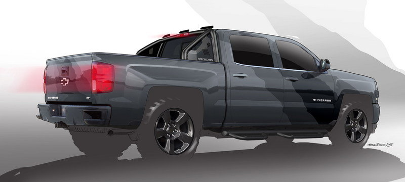 2015 Chevrolet Silverado Special Ops Concept High Resolution Exterior - image 653858