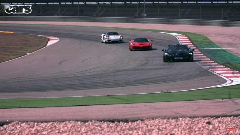 Chris Harris Puts The LaFerrari, Porsche 918 And McLaren P1 Face To Face: Video