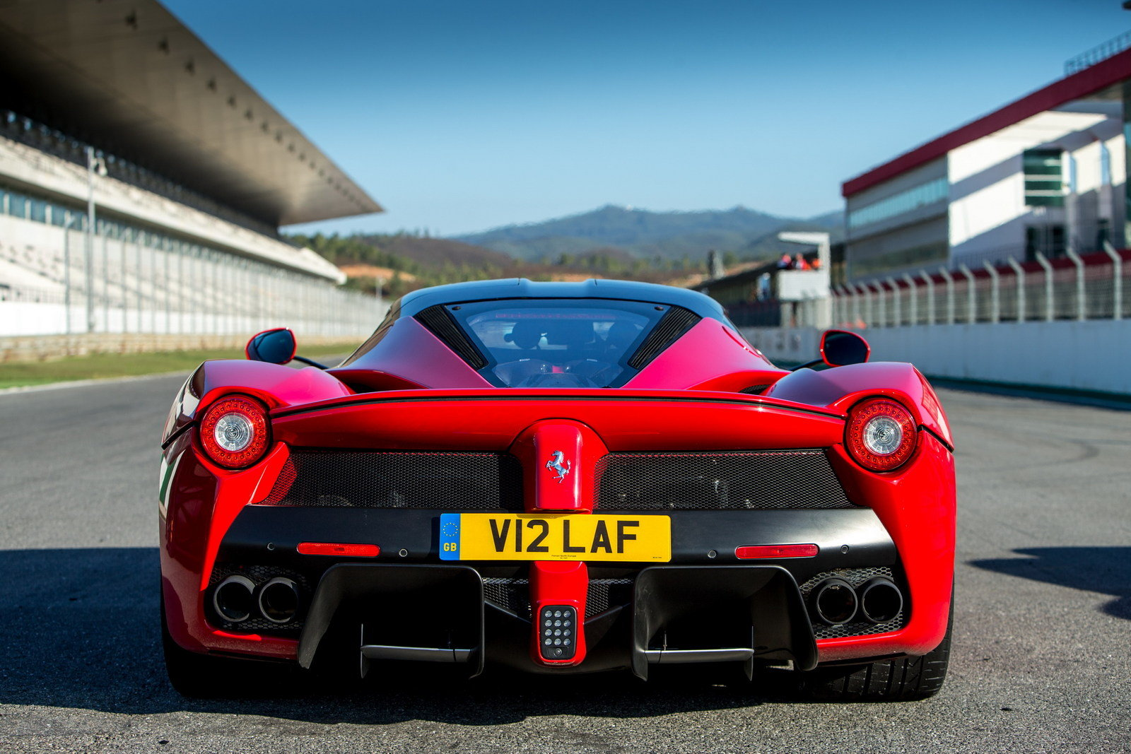 Ferrari will auction laferrari v12 laf license plate for for How to buy a car from charity motors