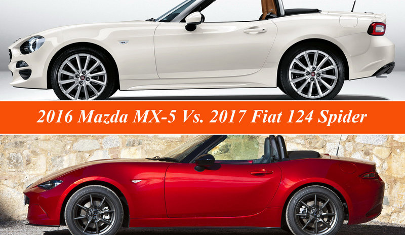Fiat 124 Spider Vs. Mazda MX-5 Miata
