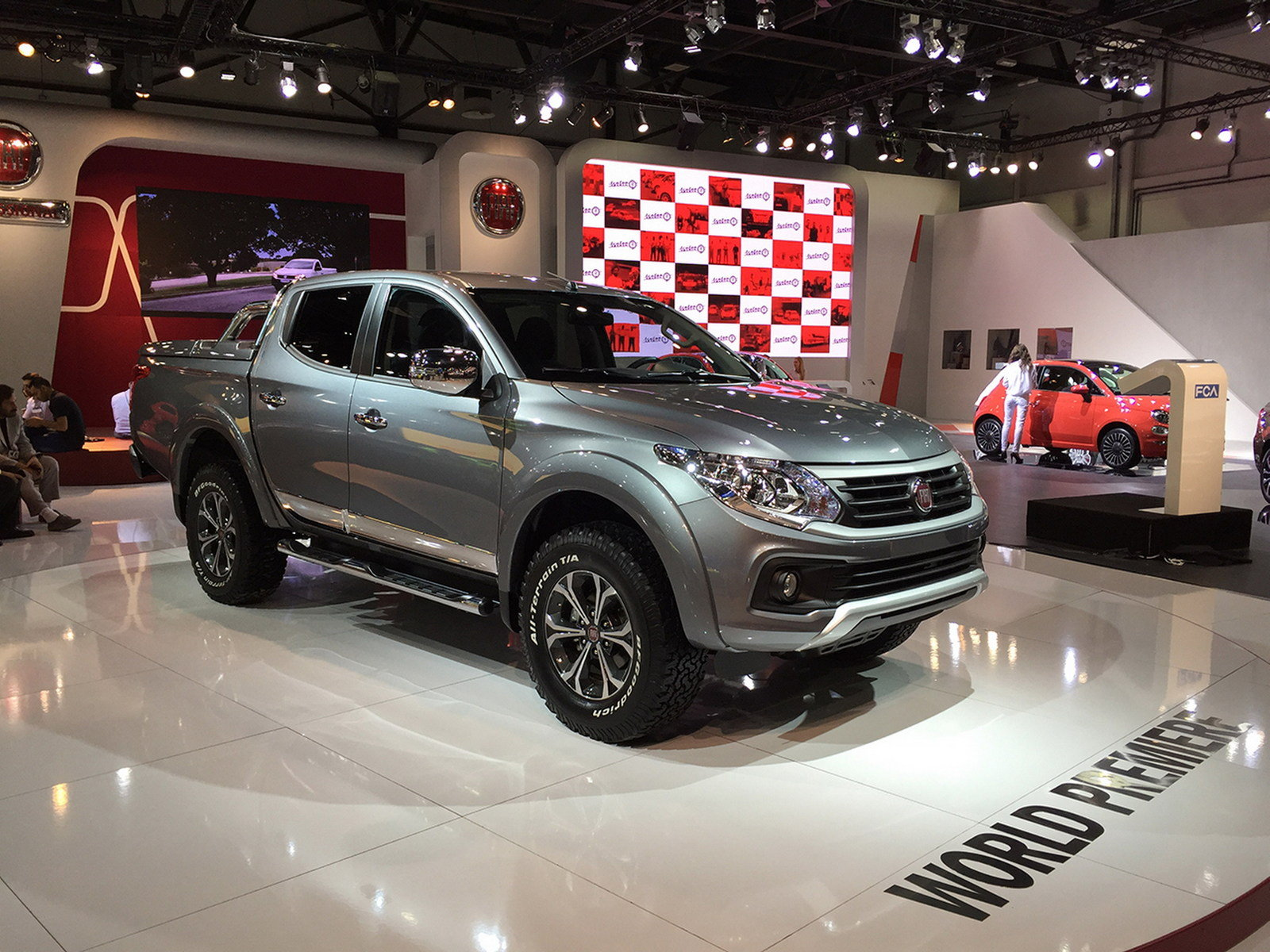2016 fiat fullback picture 655233 truck review top speed. Black Bedroom Furniture Sets. Home Design Ideas