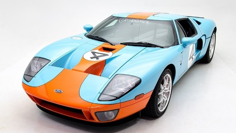 Ford Gt Heritage Edition For Sale At Cats Exotics
