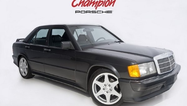 1985 mercedes benz 190e 2.3-16v review - top speed