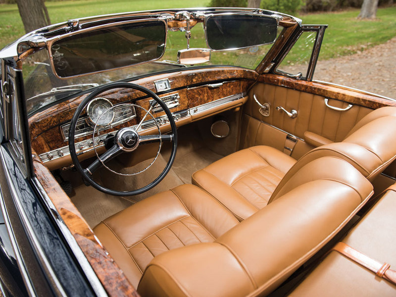 1956 Mercedes-Benz 300 SC Roadster High Resolution Interior - image 657467