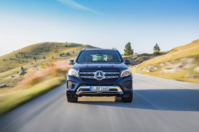 2017 Mercedes-Benz GLS-Class High Resolution Exterior - image 654043
